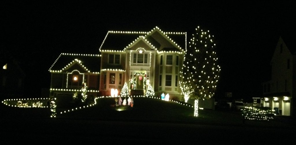 christmas lights - Residential Christmas Decorating Service