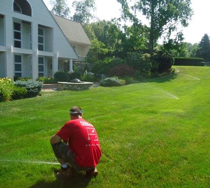Dave's Landscape Hudson, Ma - Irrigation Installation
